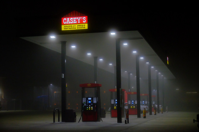 gas station in fog oil Tim Vrtiska CC BY-ND 2.0