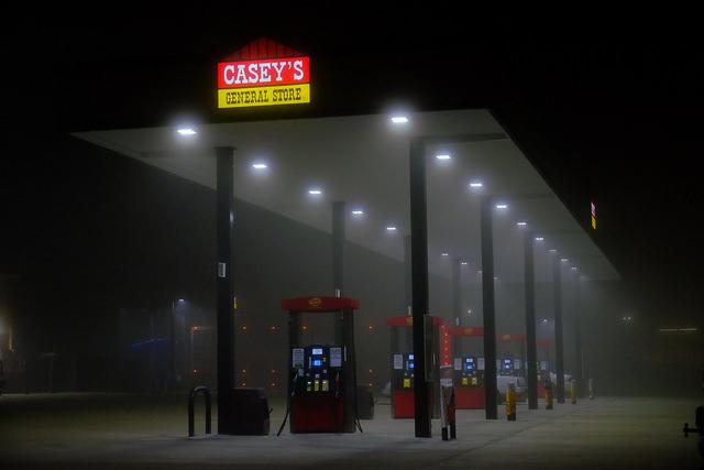 gas station in fog oil Tim Vrtiska CC BY-ND 2.0